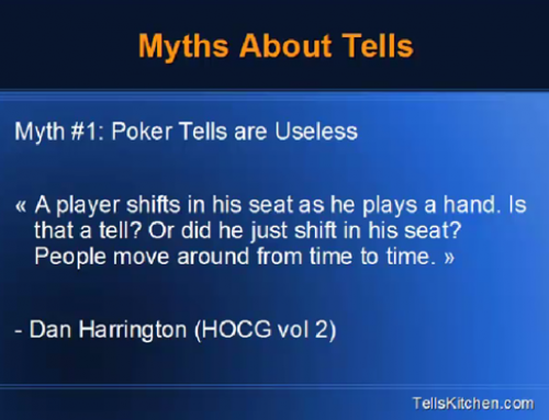 Poker Tells: 4 Myths You Must Know